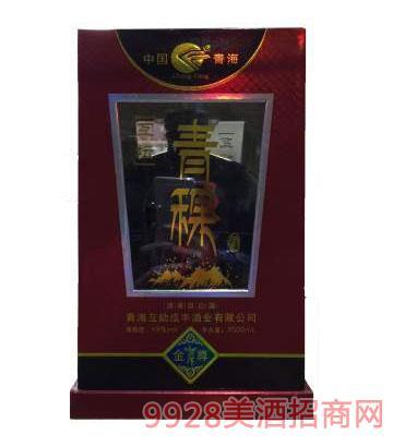 互坛青稞酒(金尊)1500ml