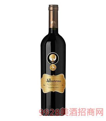 澳大利亚信天翁歌海娜西拉子干红葡萄酒