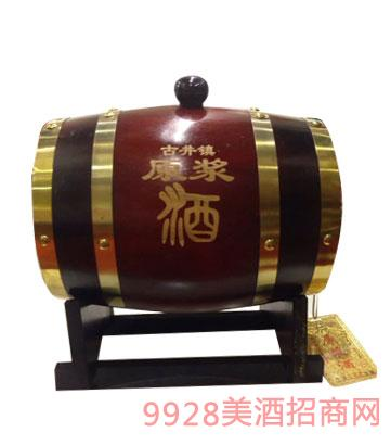 老贡酒原浆酒橡木桶