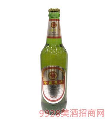 金燕京干啤酒瓶装
