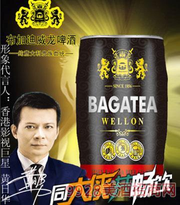 BJ019-5升布加迪桶黑啤啤酒