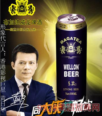 BJ012-500ml布加迪罐啤酒