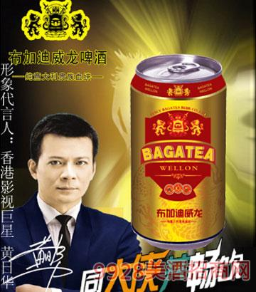 BJ011-325ml布加迪红金罐啤酒