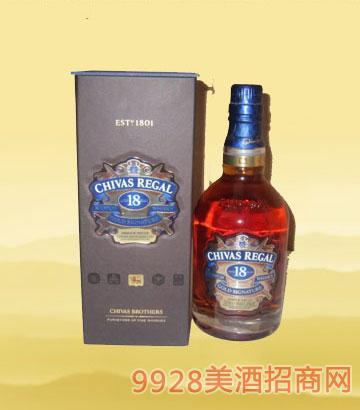 芝华士威士忌18年700毫升