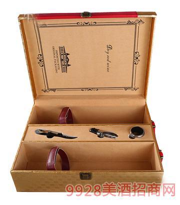 双支装皮盒(开盒)