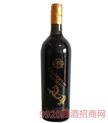 """玛德尼2008""""土豪金""""葡萄酒750ml"""