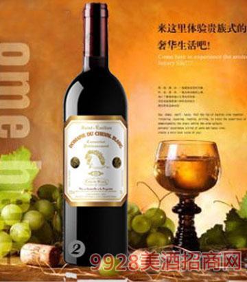 白马酒庄2010家族牌珍藏干红葡萄酒