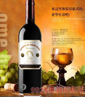 白马酒庄2010家族牌男爵干红葡萄酒