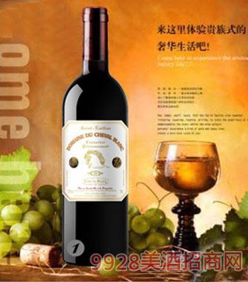 白马酒庄2009家族牌珍藏干红葡萄酒