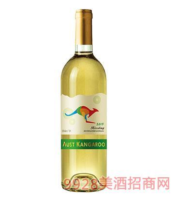 澳洲袋鼠干白葡萄酒12.5度750ml