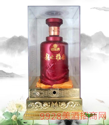 龙之雅韵酒透明盒