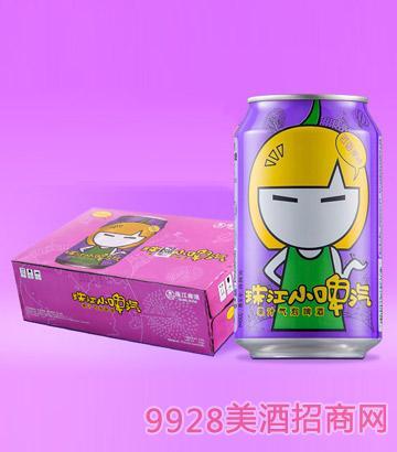 珠江小啤汽啤酒