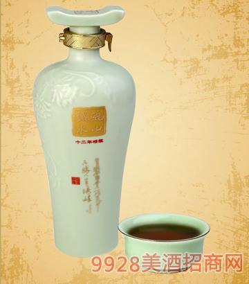瓯山越水黄酒 十二年精酿