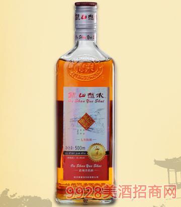 瓯山越水黄酒七年陈酿
