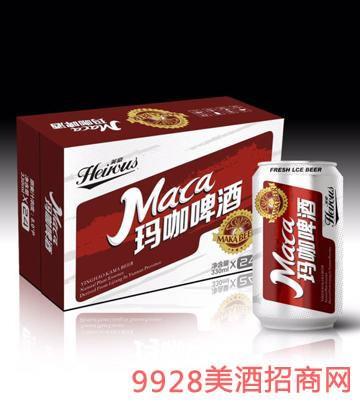 玛咖啤酒330ml罐装