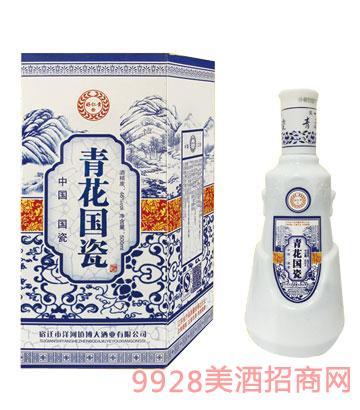 青花��瓷酒