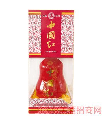 中国红四角酒
