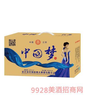 中国梦酒箱装