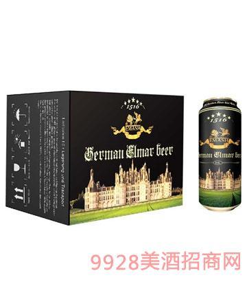 德国艾玛士黑啤酒500ml