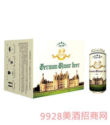 德国艾玛士黄啤酒500ml