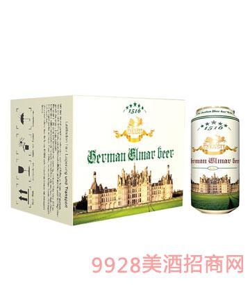 德国艾玛士白啤酒500ml