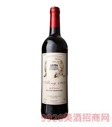 奥隆1968梅多克红葡萄酒2008