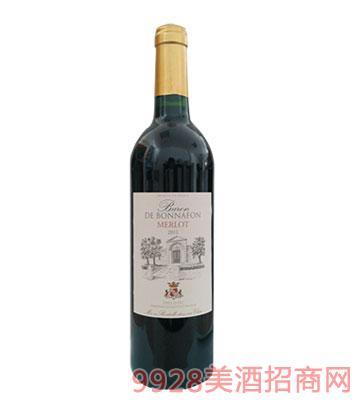 法国博纳梅洛干红葡萄酒