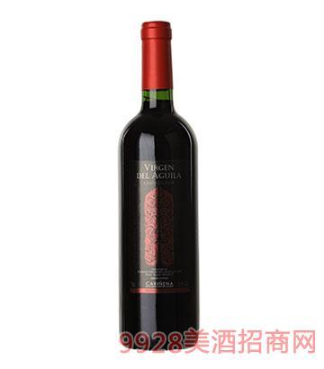 西班牙鹰之圣母陈酿红葡萄酒