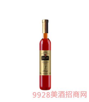 玫瑰冰红葡萄酒