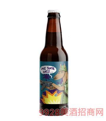 字母燕麦啤酒