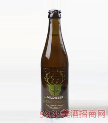 鹿头烟熏拉格啤酒