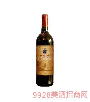 醍恩波松干红葡萄酒