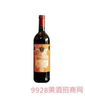 醍恩波松金典干红葡萄酒