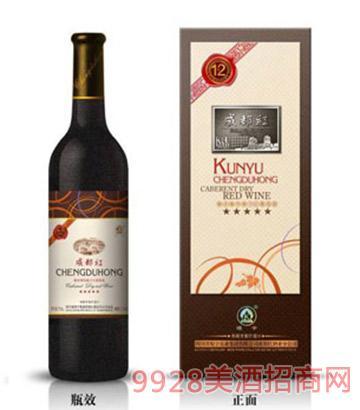 成都红橡木桶窖藏干红葡萄酒12年