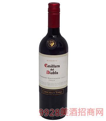 红魔鬼干红葡萄酒
