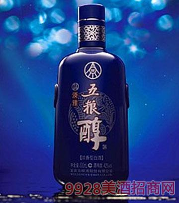 蓝淡雅五粮醇酒