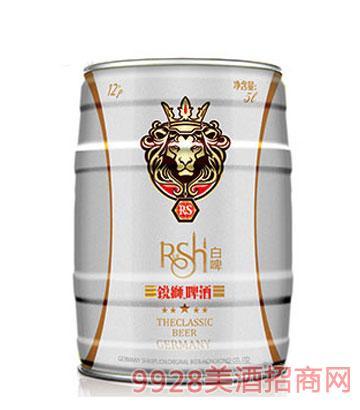 锐狮啤酒·巴伐利亚风情5L(白啤)