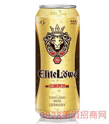 锐狮啤酒经典8°-500ml(罐装)