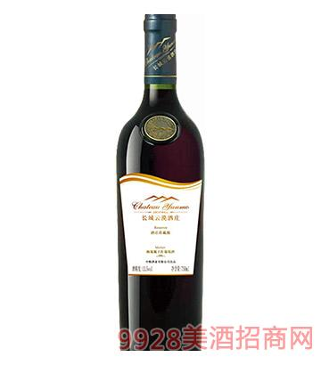 长城云漠酒庄珍藏级梅鹿辄干红葡萄酒