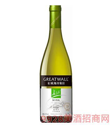 长城绿庄优选干白葡萄酒