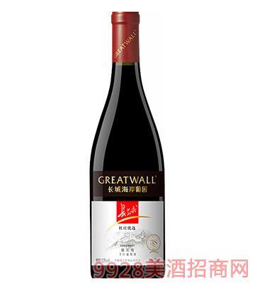 长城红庄优选干红葡萄酒