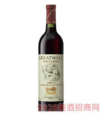 长城华夏九七干红葡萄酒