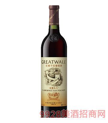 长城华夏九六干红葡萄酒