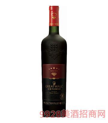 长城干红葡萄酒钻石版