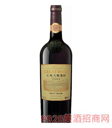 长城天赋葡园昌黎产区碣石山脉赤霞珠精选干红葡萄酒