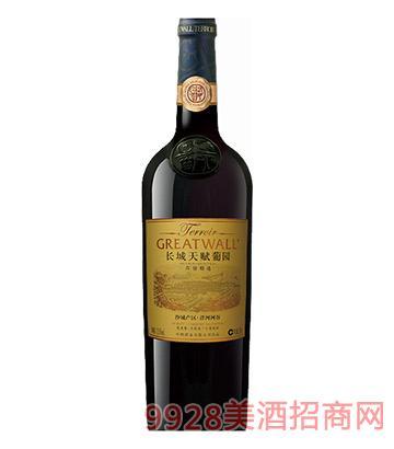 长城天赋葡园沙城产区洋河河谷梅鹿辄赤霞珠精选干红葡萄酒