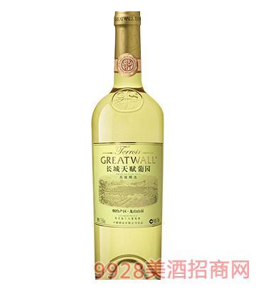 长城天赋葡园烟台产区龙山山谷霞多丽精选干白葡萄酒
