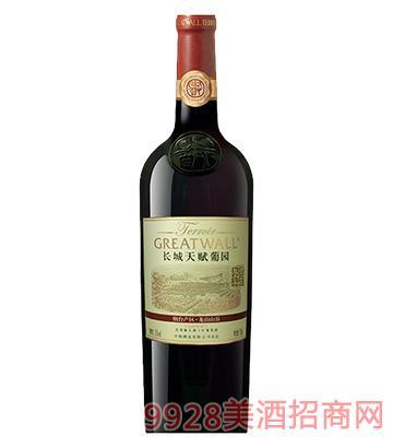 长城天赋葡园烟台产区龙山山谷经典解百纳干红葡萄酒