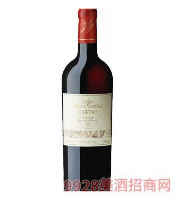长城桑干酒庄特别珍藏级西拉干红葡萄酒