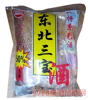 东北三宝高粱酒(袋装)